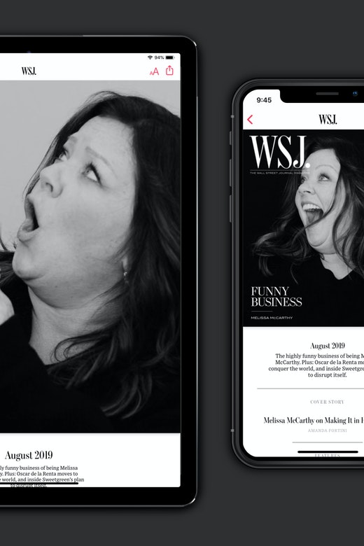 WSJ. Magazine on Apple News+